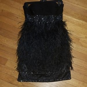 03bf54288b Sue Wong feather dress